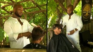 Central Park Barber, Herman James, Doesn't Charge for Outdoor Haircuts