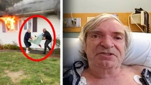 Good Samaritan Saves Woman From House Fire, Then Has Heart Attack