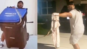 Dad Who Trapped Gator in Trash Can Captures Giant Snake This Time