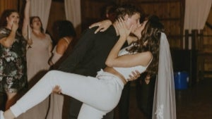 20-Year-Old Wisconsin Couple Wears Nike Tracksuit and Crop Top to Wedding