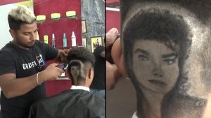 Talented Barber Brothers Shave Elaborate Designs Into Customers' Heads in India