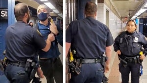 New York Police Throw Man Out of Subway for Asking Why They Aren't Wearing Masks