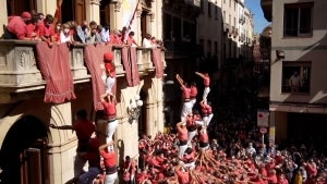 'Human Towers' Return to Spain After Being Cancelled Earlier in the Pandemic