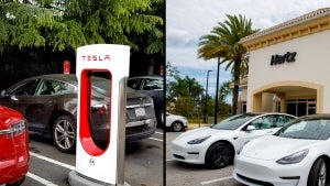 Tesla Shares Jump 12% After Hertz Announces 100,000 Model 3 Order
