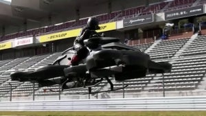 New Hoverbike by Japanese Drone Company Costs $680K and Flies for 40 Minutes