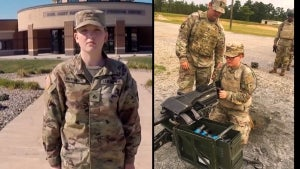 College Student Is 1st Female Enlisted Infantry Soldier in Iowa