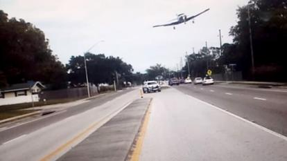 Plane crash caught on camera