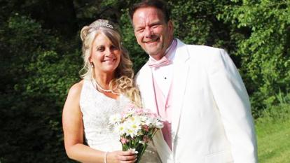 Michael Maguire, 52, and his bride Annette, 50, were diagnosed of cancer within two weeks of each other.