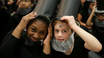 Kids as Abe Lincoln