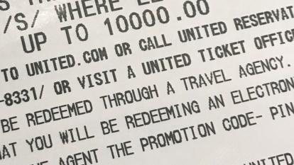 United airlines voucher