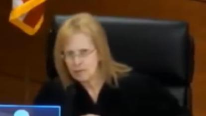 Judge Merrilee Ehrlich was seen in a video yelling at Sandra Faye Twiggs during her April 15 court appearance.