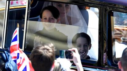 The 7-year-old twin page boys stole the show during the royal wedding.