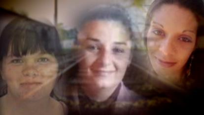 (L to R) The bodies of Christina Bennett, Rhonda Jones and Megan Oxendine were found within a six week period in Lumberton, N.C.