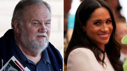 Thomas Markle regretted not being able to walk his daughter down the aisle.