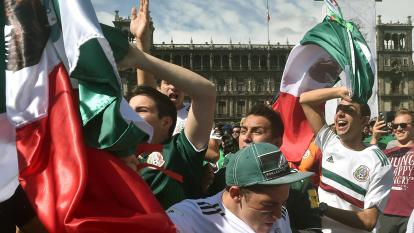 Mexicans shake the earth after World Cup upset
