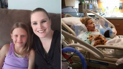 Abby Steinard needed a kidney. So Kari Woods gave hers.