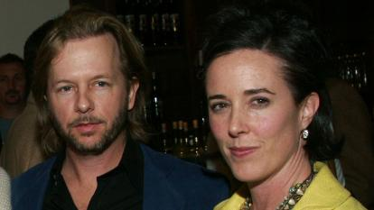 Kate and David Spade