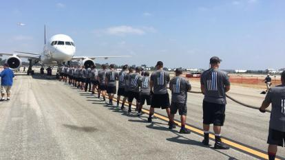 Plane Pull Special Olympics