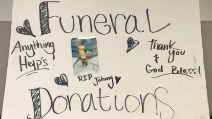 Funeral donations