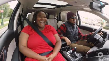 Chance the Rapper posed as a Lyft driver.