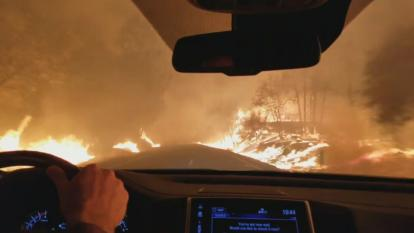 Driving in Fire