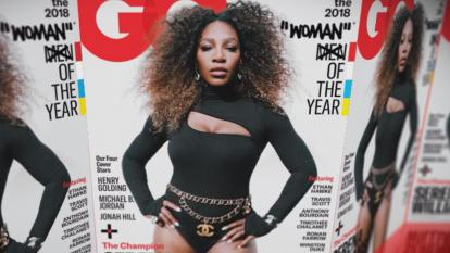 Serena Williams on the cover of GQ