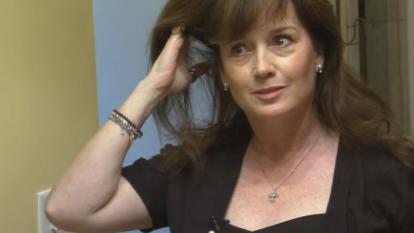 Best-selling fantasy novelist Sherrilyn Kenyon claims her husband tried to kill her.