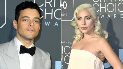 Rami Malek and Lady Gaga are up for Oscars