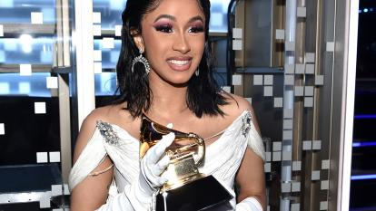 Cardi B deleted her Instagram in response to criticism on her Grammys win.