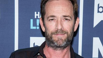 Luke Perry has been hospitalized following a massive stroke.