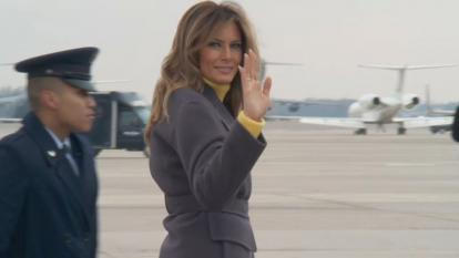 "Melania Trump's ""Be Best"" initiative is often overshadowed by the news of the day coming from the White House."
