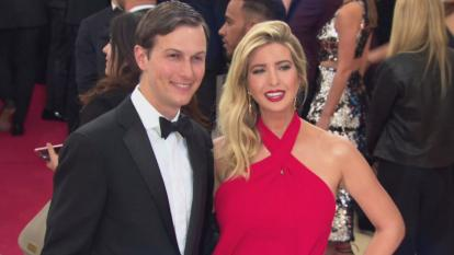 The author the president's daughter and son-in-law, who serve as White House advisers, are actually dangerous to the country.