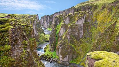 The Fjaðrárgljúfur canyon in Iceland has been closed to tourists.