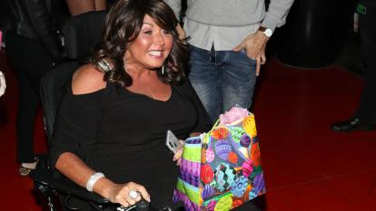 Abby Lee Miller hopes to one day be able to walk again.