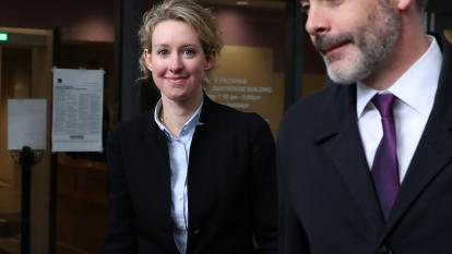 Disgraced Theranos founder Elizabeth Holmes is due in a California federal court Monday on charges of fraud and conspiracy.