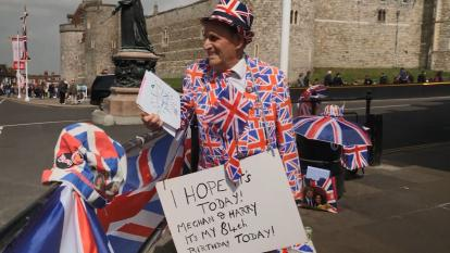 The Royal Baby Can't Come Fast Enough for This 84-Year-Old Royal Superfan