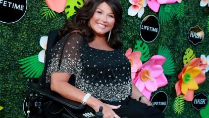 Abby Lee Miller is seen at Lifetime's Summer Luau at W Los Angeles.