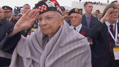 The D-Day commemorations were solemn and breathtaking as more than 170 vets of World War II were in attendance.