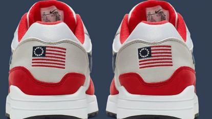 "Nike's ""Betsy Ross flag"" sneaker is being pulled after concerns it might be offensive."