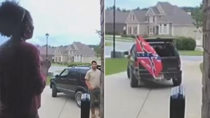 Allison Brown calmly fired a contractor who showed up flying a Confederate flag from his truck.