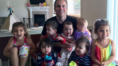 Super dad Chad Kempel has tips and tricks for raising seven kids.