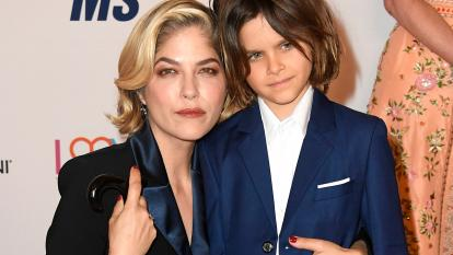 When Selma Blair is feeling weak, she turns to her 8-year-old son, Arthur, for strength.