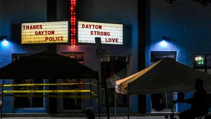 The Aug. 4 shooting in Dayton, Ohio, killed nine people.