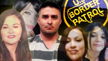 A Texas Border Patrol agent is accused of being a serial killer.