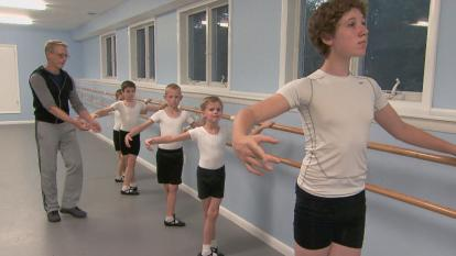 Inside Edition went to Eastern Connecticut Ballet School, where the boys say no one is laughing at them.