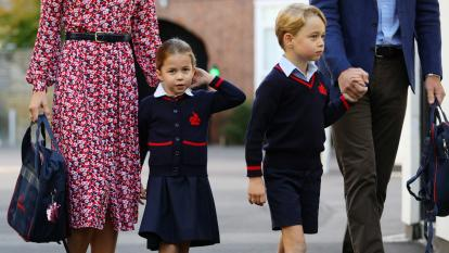 Princess Charlotte Is Ready to Be a Serious Student at School