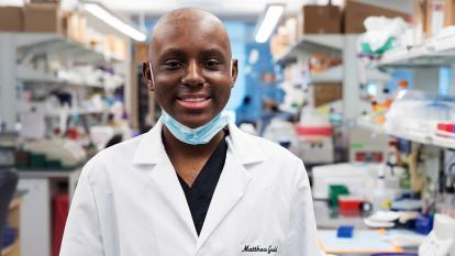 Matthew Gould, 16, learned about the world of medical research amid his battle against leukemia.