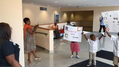 Kids Give Mom Sweet Surprise When She Finishes Her Dissertation