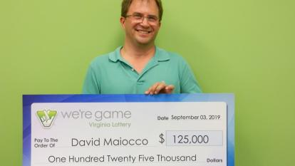 This man won the Virginia Lottery 25 times over.