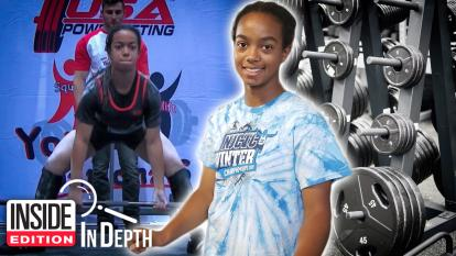 Diana Yturbe is a really, really strong 14-year-old.